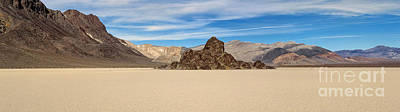 Racetrack Digital Art - Grandstand Death Valley by Jerry Fornarotto
