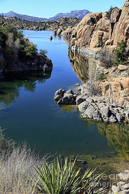 Watson Lake Photograph - Granite Dells 2 by Teresa Zieba