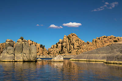 Watson Lake Photograph - Granite Dells by Amy Sorvillo