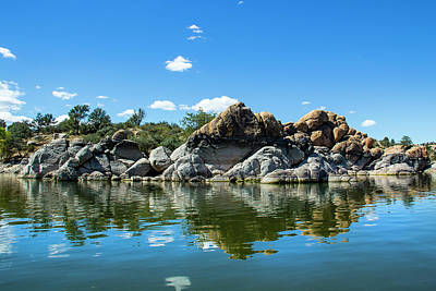 Watson Lake Photograph - Granite Dells At Watson Lake by Amy Sorvillo