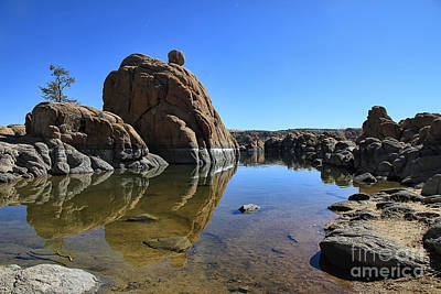 Watson Lake Photograph - Granite Dells II by Teresa Zieba