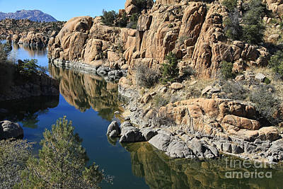 Watson Lake Photograph - Granite Dells by Teresa Zieba