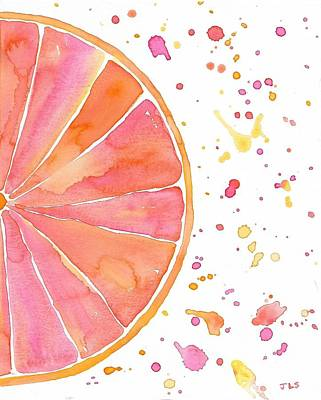 Grapefruit 1 Original by Jessica Schmidt