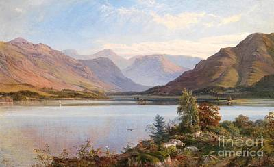 Mountain Valley Painting - Grasmere by Henry Moore