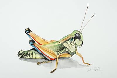 Grasshoppa Original by Jennifer Lindsley