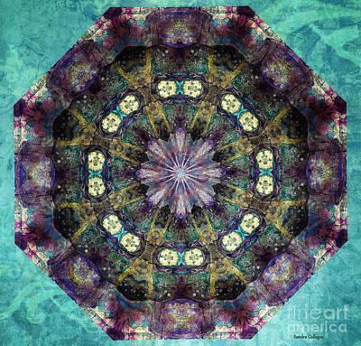 Beautiful Digital Art - Gratitude Mandala by Sandra Gallegos
