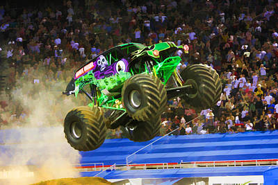 Fun Show Painting - Grave Digger 7 by Lanjee Chee