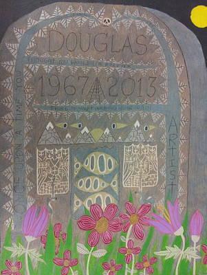 Gravestone 1 Print by William Douglas