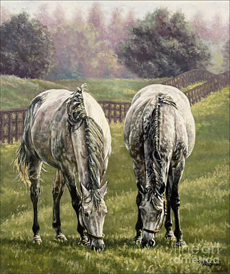 Painting - Grazing by Thomas Allen Pauly
