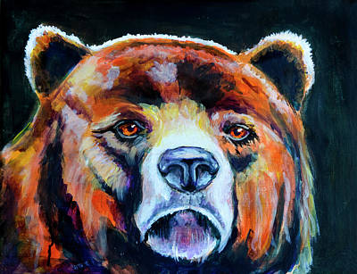 Constellation Painting - Great Bear by Rick Mosher