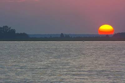 Great Egg Harbor Sunset Original by Kevin  Sherf