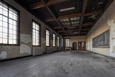 Photograph - Great Empty Hall by Steven K Sembach