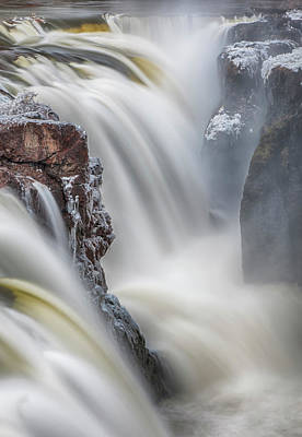 Great Falls Of The Passaic River Print by Rick Berk