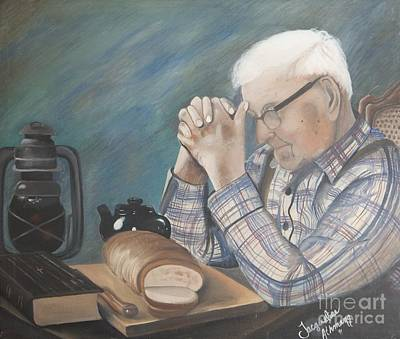Giving Painting - Great Grandpa by Jacqueline Athmann