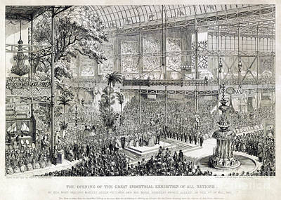 Great Industrial Exhibition Opening Print by Science Source