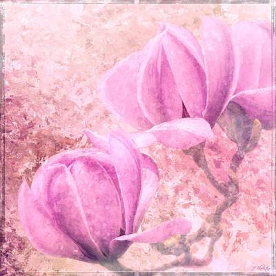 Jordan Painting - Great Love - Flower Art by Jordan Blackstone