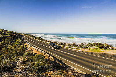 Asphalt Photograph - Great Ocean Road by Jorgo Photography - Wall Art Gallery
