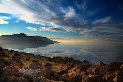 Great Salt Lake Utah Print by Utah Images