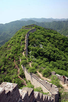 Built Structure Photograph - Great Wall Of China by Natalia Wrzask