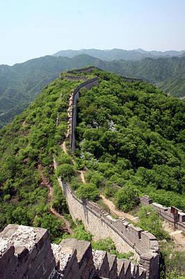 Great Wall Of China Print by Natalia Wrzask