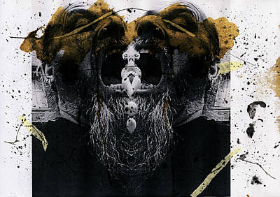 Grebo 05 Print by Grebo Gray