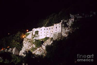 Greccio Monastery I Print by Fabrizio Ruggeri