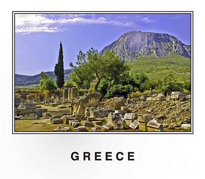 Greece Print by Madeline Ellis