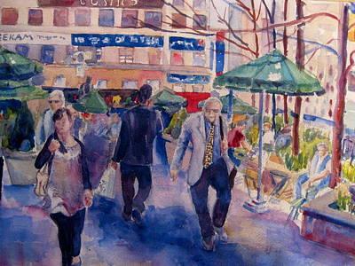 Greeley Square Print by Joyce Kanyuk