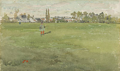 Tonalist Painting - Green And Silver by James Abbott McNeill Whistler