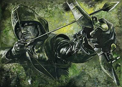 Green Arrow Original by Nate Michaels