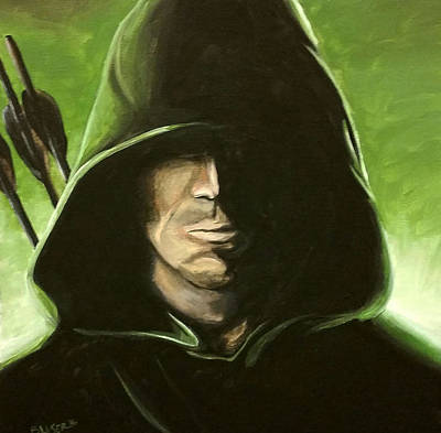 Green Arrow Original by Rebecca Blaser