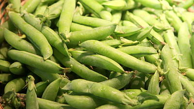 Green Beans Painting - Green Beans by Imagery-at- Work