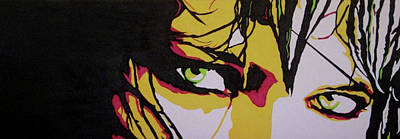 Green Eyes Print by Orazio Scilimpa