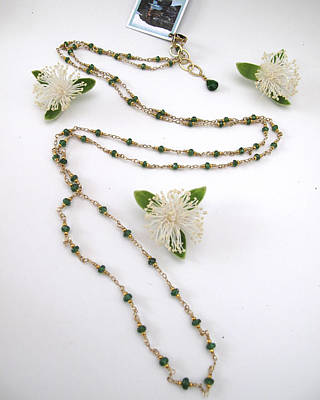 Locally Made Jewelry - Green Goddess Strand by Adove  Fine Jewelry
