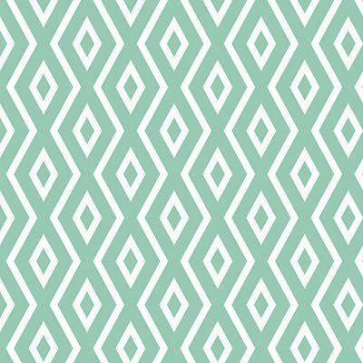 Green Pattern Print by Christina Rollo