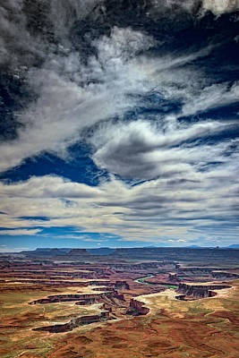 Green River Overlook Print by Rick Berk