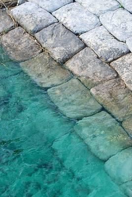 Green Water Blocks Original by Rob Hans