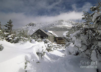 Greenleaf Hut - White Mountains New Hampshire Print by Erin Paul Donovan