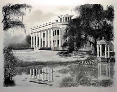 Greenwood Plantation Original by Ron Landry