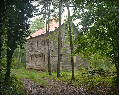 Photograph - Greer Spring Mill 1 by Marty Koch