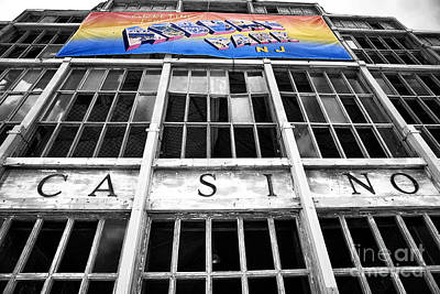 Greetings From Asbury Park Fusion Print by John Rizzuto