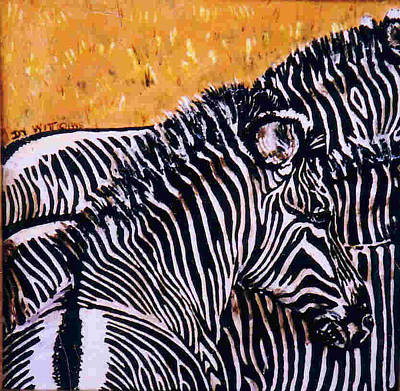 Grevy Colt Print by Dy Witt