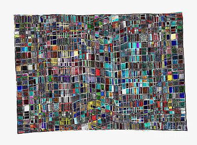 Gridlock Drawing - Gridlock 3 by Andy  Mercer