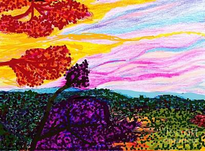 Socal Mixed Media - Griffith Park Splendor  by Ishy Christine  Degyansky