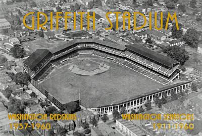 Griffith Stadium Print by Jost Houk