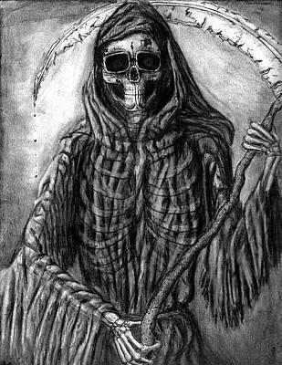 Grim Reaper Print by Katie Alfonsi