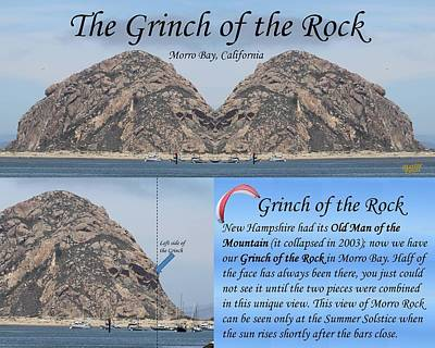 Suggestive Photograph - Grinch Of The Rock Story by Gary Canant