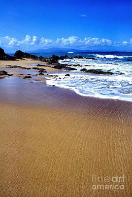 Gringo Beach Vieques Puerto Rico Print by Thomas R Fletcher