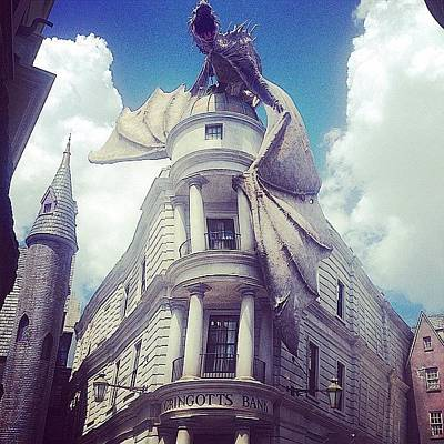 Wizard Photograph - Gringotts  by Kate Arsenault
