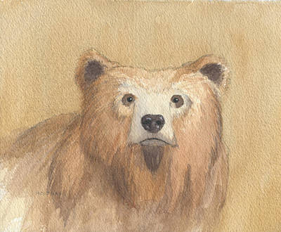 Painting - Grizzly by John Holdway